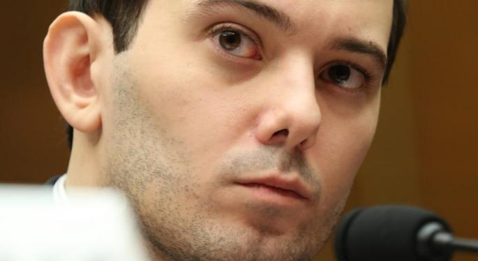 Martin Shkreli: Mallinckrodt Will Be Punished