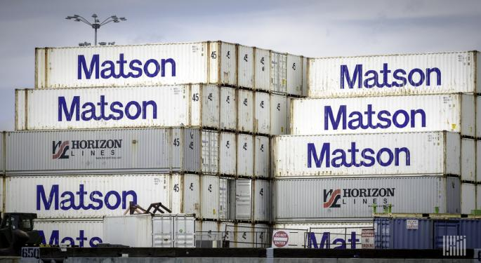 Matson Offers Inside Glimpse Of Trans-Pacific Pandemonium