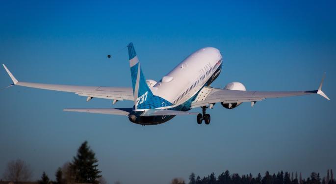 Los traders de opciones de Boeing apuestan al alza