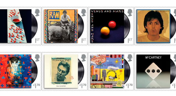 Royal Mail Issues Paul McCartney Stamps, Predicts Pandemic-Fueled Profit