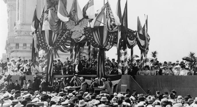 This Day In Market History: President William McKinley Is Shot