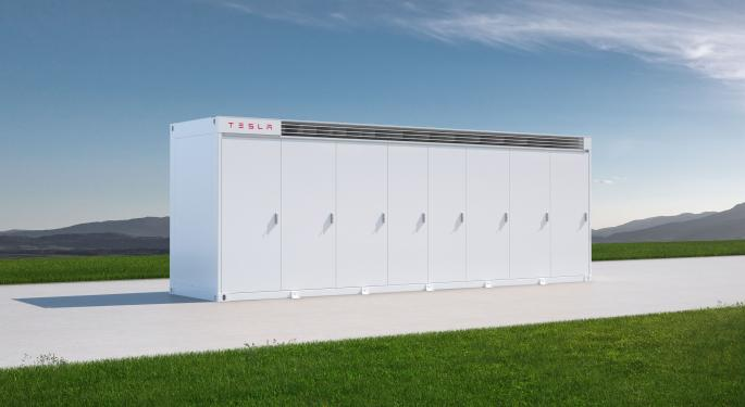 Tesla Unveils Megapack Industrial Energy Storage Pricing, Sells Out Through 2022