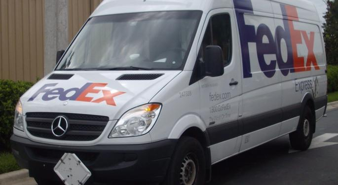 Barclays Reiterates FedEx As A Top Pick Following Q1 Results