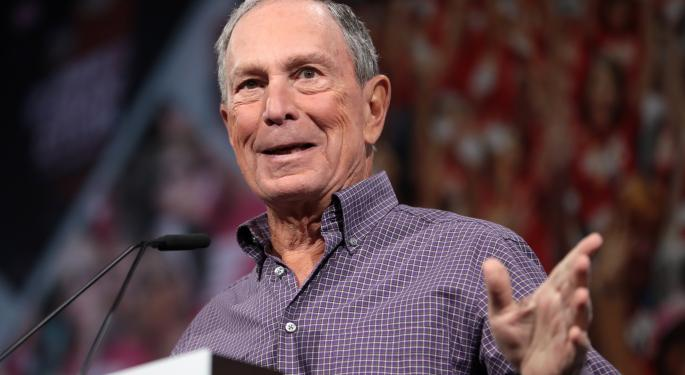 Bloomberg Promises 'Clear Regulatory Framework' For Cryptocurrencies If Elected