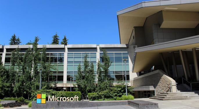 If You Invested $1,000 In Microsoft Stock One Year Ago, Here's How Much You'd Have Now