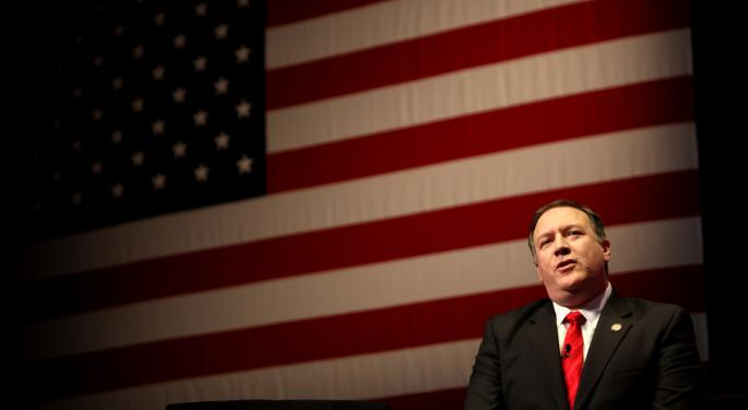 Mike Pompeo: What Investors Need To Know About Trump's Secretary Of State Pick