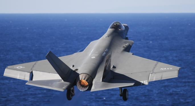 Trump's Lambasting Tweet Toward Lockheed Martin's F-35 Elicits Company Response
