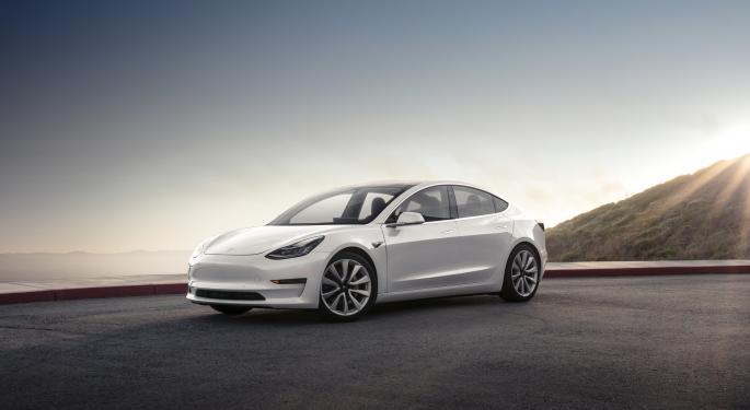 Tesla Model 3 Was China's Best Selling EV In July