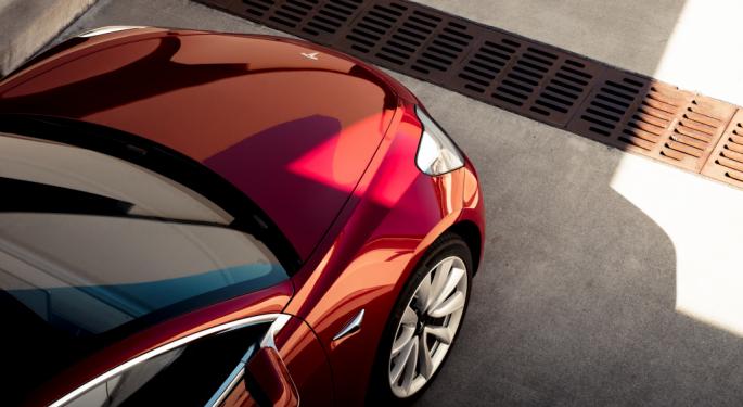 Tesla, Elon Musk Meet Model 3 Production Goal (NASDAQ:TSLA ...