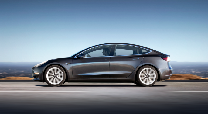 Citron Research Says Tesla Shares Are Doing 'Too Much Too Fast'