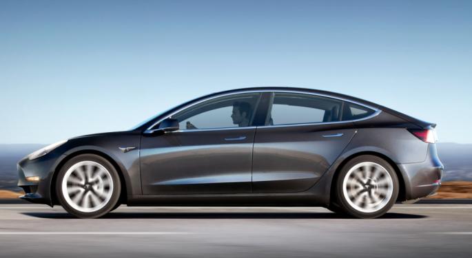 Tesla Model 3s Can Earn Subsidies In China