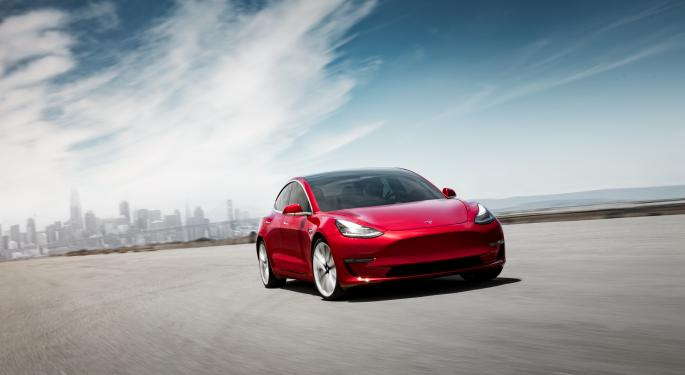 Chinese Government OKs Tesla Sales Of Long-Range Model 3: Report
