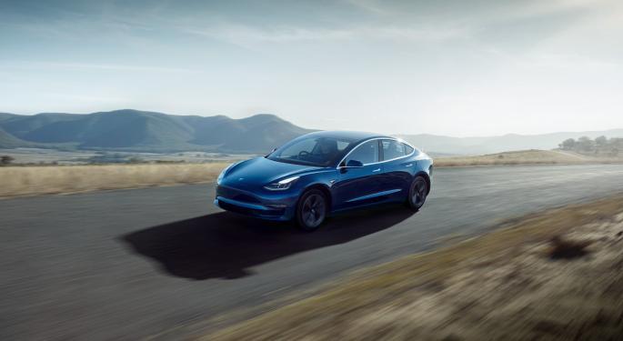 Tesla Model 3 Is UK's Top-Selling EV In June