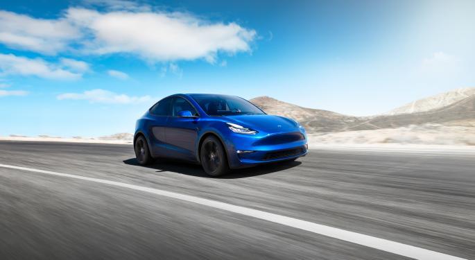 Tesla: pruebas del Model Y con tracción trasera
