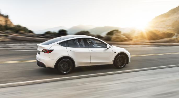 Tesla Model Y Spotted In Europe