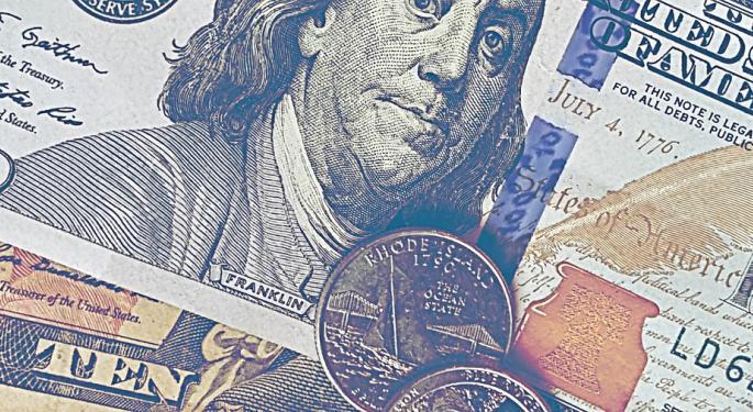 Treasury Auctions $95B In Debt