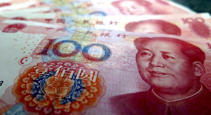 China Has A Problem With Outflows: It's Costing Billions To Keep The Yuan's Price