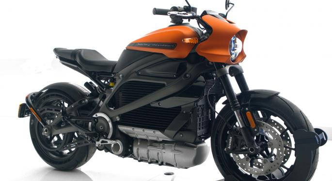 Harley-Davidson Creates Brand For LiveWire Electric Motorcycle