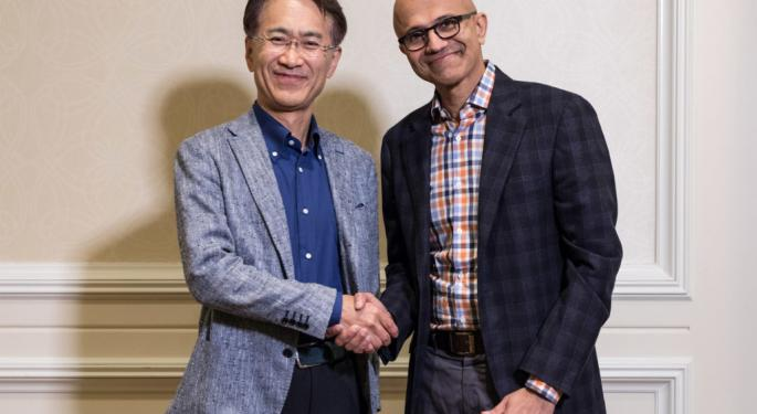 Microsoft, Sony Team Up To Work On Gaming Experiences, AI Solutions