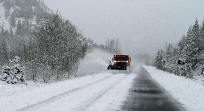 Snow Storm Keeps Trucking Across Northwest Freight Region With Forecast Video