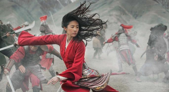Disney's 'Mulan' Underwhelms On Chinese Debut