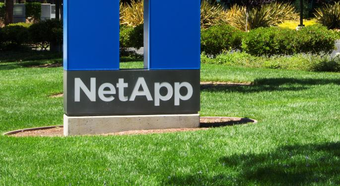 NetApp Upgraded Despite Near-Term Margin Weakness