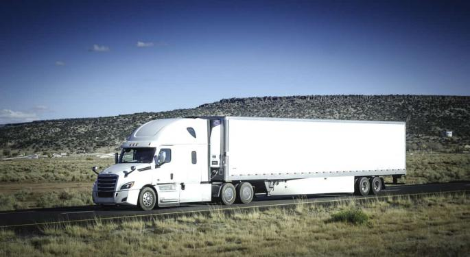 Consensus For Double-digit Truckload Rate Increases Forming