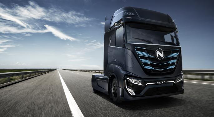 Why Nikola's Stock Is Trading Higher Today