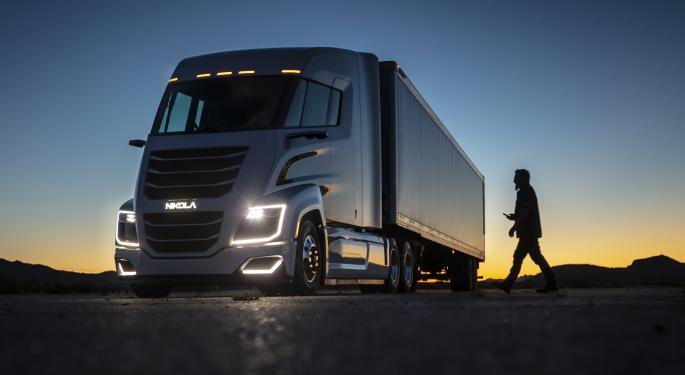 Why Nikola's Stock is Trading Lower Today