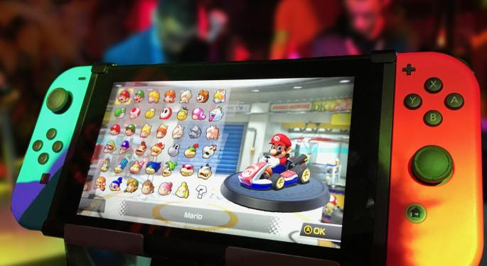 Nintendo Shares Fall On FY21 Earnings