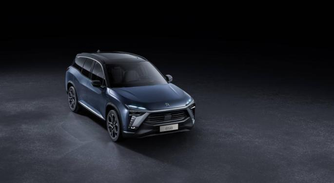 Why Nio's Stock Is Trading Higher Today