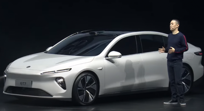 Nio's Li: New ET7 Takes Aim At BMW, Mercedes-Benz, Audi And Maybe Even Apple, But Not Tesla