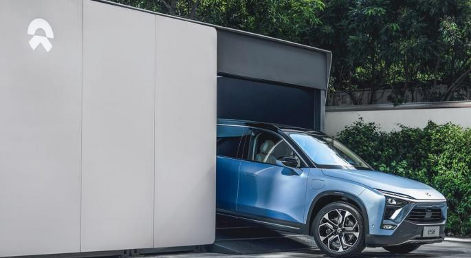 Why Is Nio's Stock Trading Higher Today?