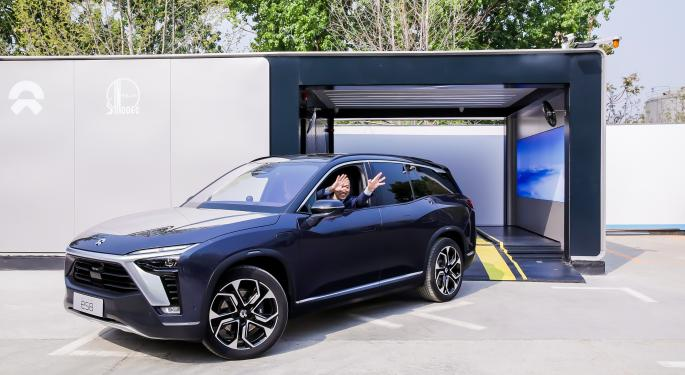 Nio-Sinopec Partnership Launches With Power Swap Station 2.0: What EV Investors Need To Know