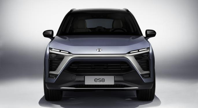 Nio Says Chip Shortage Will Hit EV Production In Q2