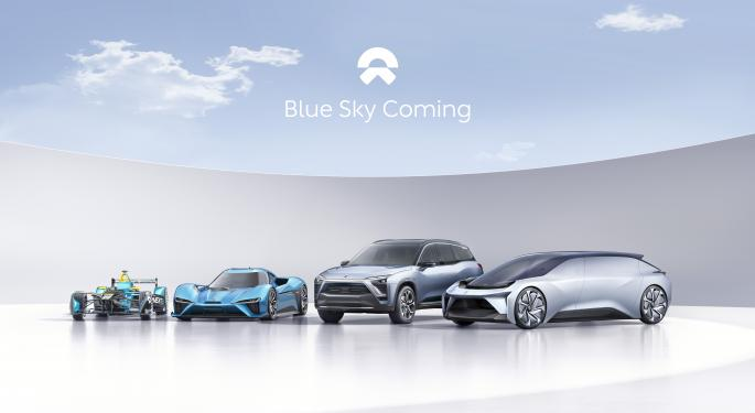 Nio Forced To Halt Production, Lower Q1 Deliveries Forecast As Chip Shortage Comes Haunting