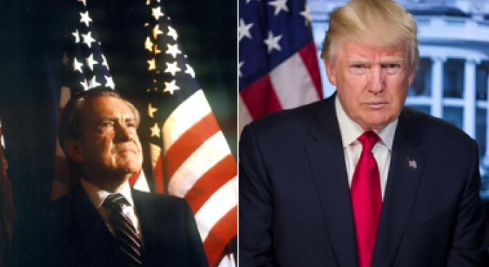 Former Nixon Library Historian Has Familiar Feeling About Trump