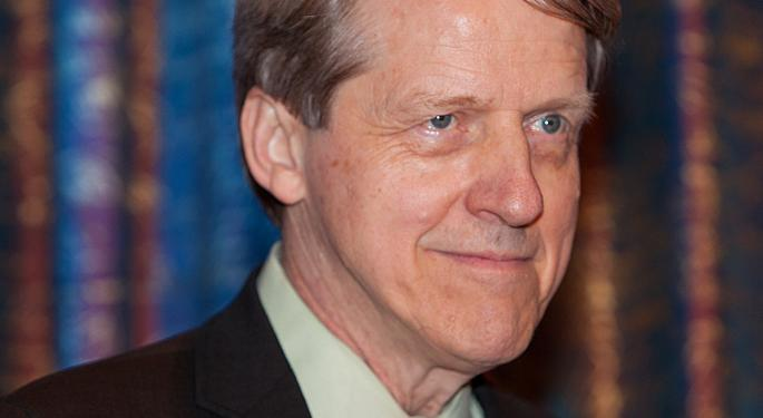 'Talking Ourselves Into A Recession': Robert Shiller, Catherine Wood Talk Disruptive Innovation, Narrative Economics