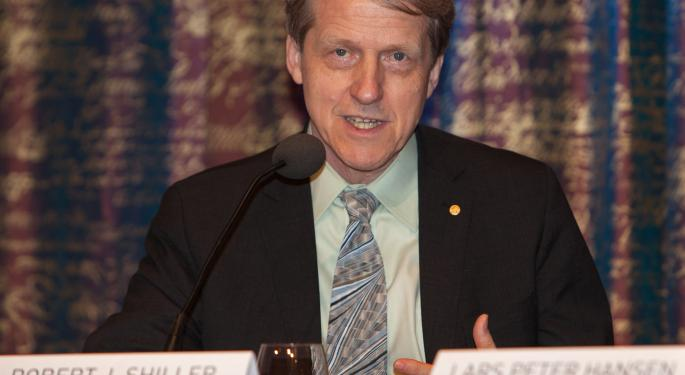 Robert Shiller: Investor Confidence In Equities 'Lowest Since 2000,' Housing Market Has Had 'Diminishing Momentum'