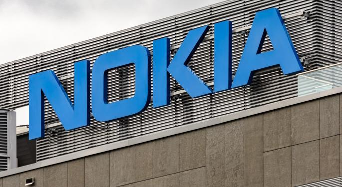 Why Nokia's Stock Is Trading Higher Today