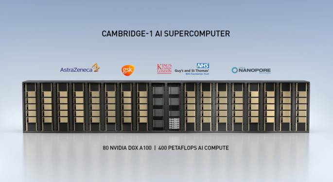 COVID-19 Vaccine Makers AstraZeneca, GSK To Get First Access To Nvidia's 'Cambridge-1' Supercomputer