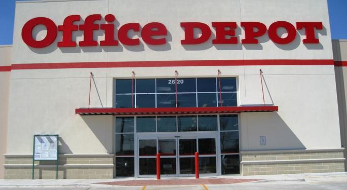 Office Depot Alleged To Re-Enter Talks For Staples Stores