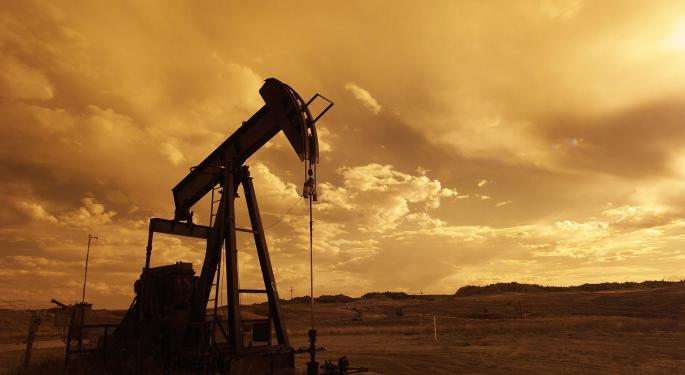 Why Oasis Petroleum's Stock Is Trading Lower Today