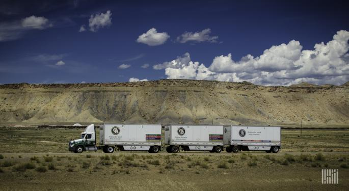 April The Bottom For Less-Than-Truckload?