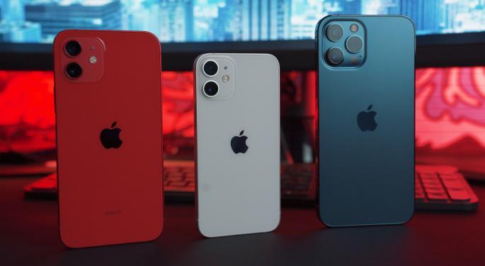 La cuota de mercado 5G de Apple baja
