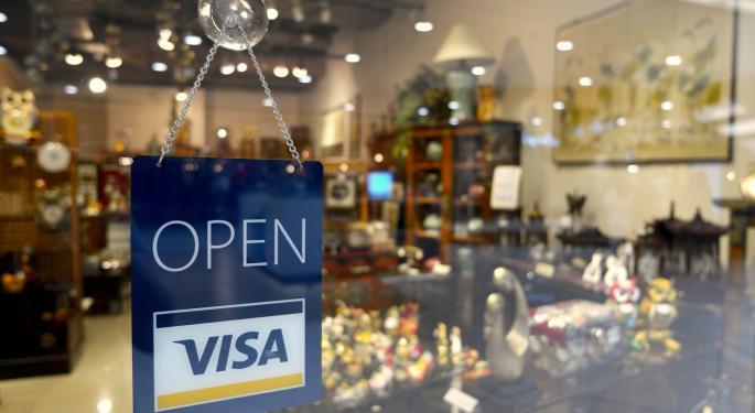 Visa Option Trader Makes $8.6M Bet On 15% Upside