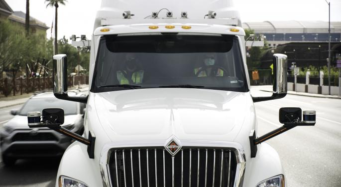 TuSimple Reports Receiving 6,775 Orders For Its Self-Driving Electric Truck