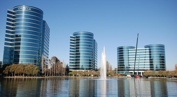 Cloud Looming? Oracle's Revenue Seen Down In Competitive Atmosphere