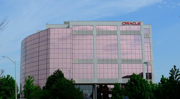 A Mixed Quarter For Oracle, But Cloud Business Improving