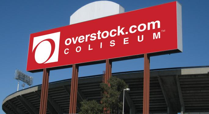 Why Overstock Shares Spiked 13% Today
